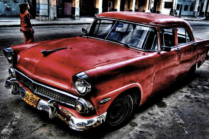 Old-Red-Cadillac-abandon-style