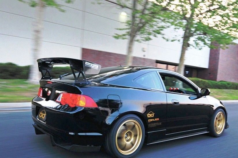 black acura rsx type s jdm – Popular Cars #blackacura #acurarsx  #acuramodifications #