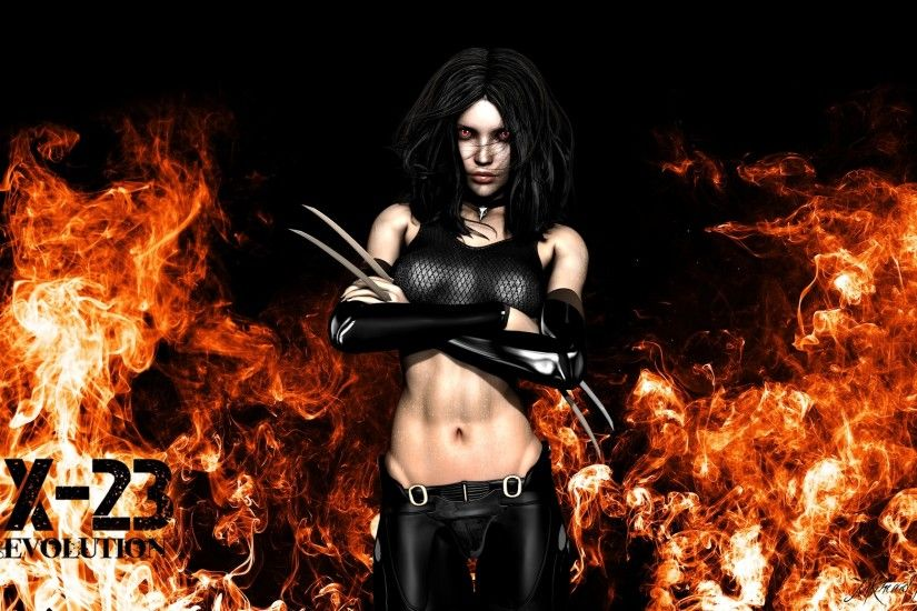 ... X-23 Evolution Wallpaper by Exyle-Studios