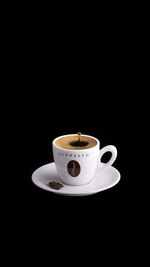 Espresso Coffee Cup iPhone 6 Plus HD Wallpaper