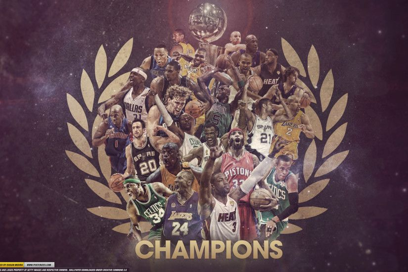 ChaseConley 595 55 NBA Champions Wallpaper by IshaanMishra