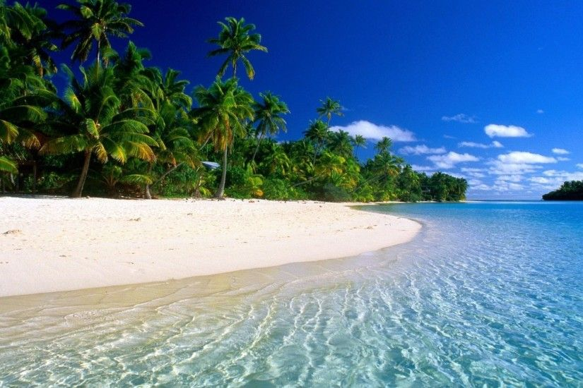 <b>Tropical Beach Wallpaper</b> 1600X1200