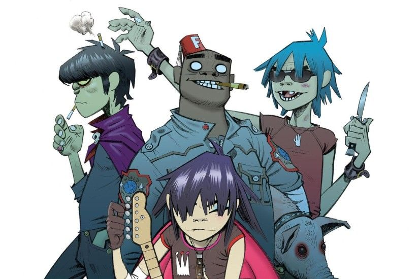Gorillaz Wallpapers HD