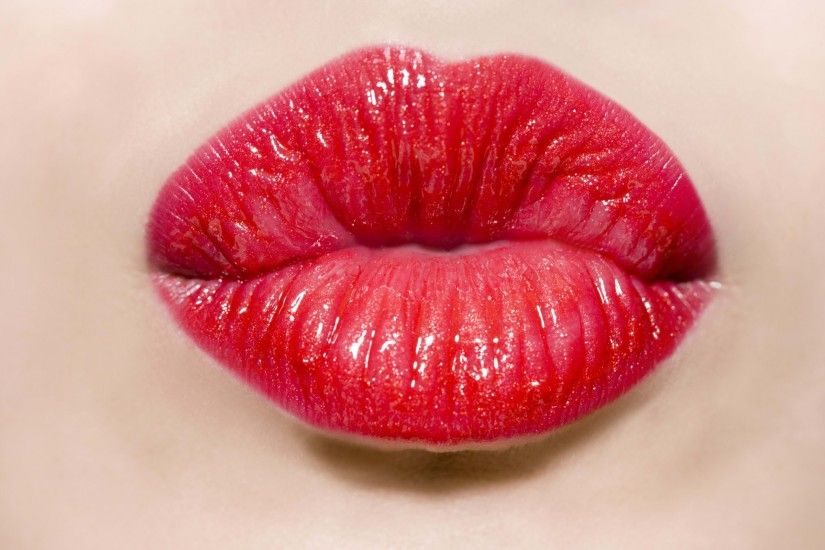 Red Lips Wallpaper 24903