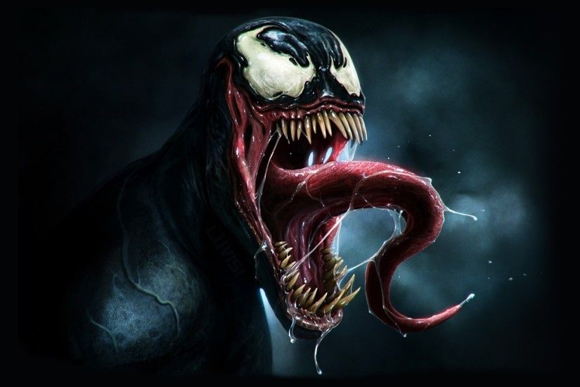 1920x1080 Wallpaper venom, marvel comics, art