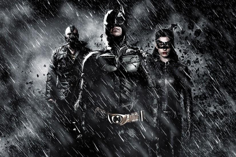 DARK KNIGHT RISES batman superhero bane catwoman wallpaper