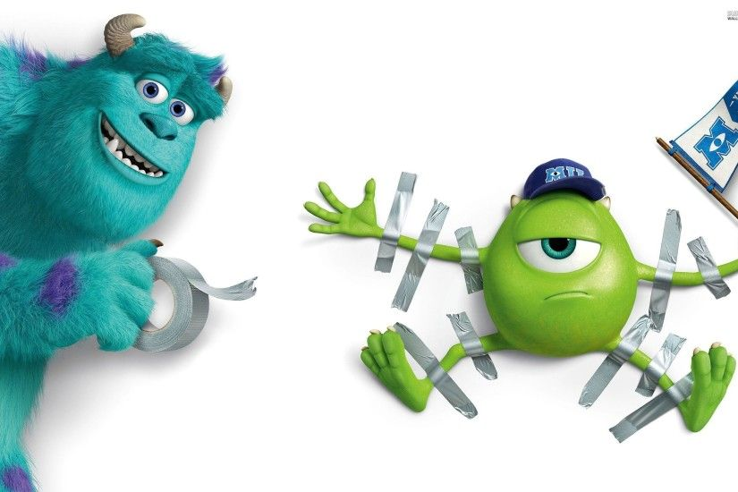Sulley and Mike Wazowski - Monsters University wallpaper - Cartoon .