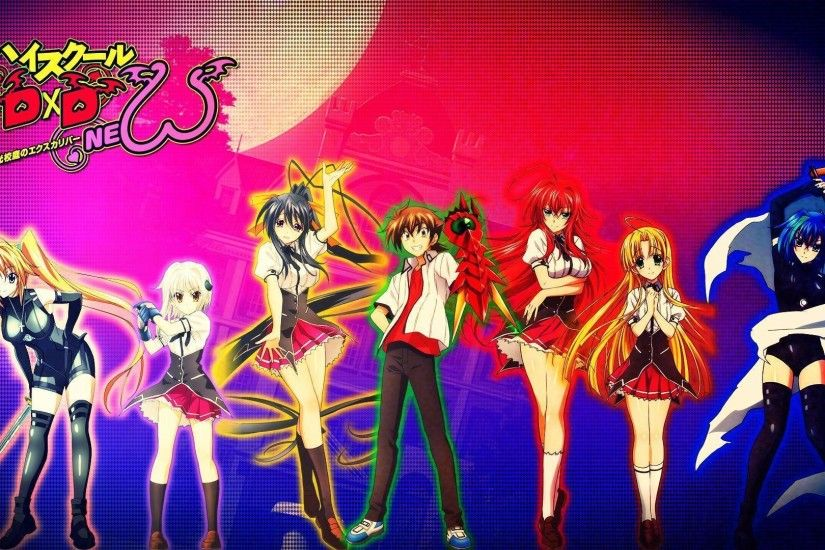 55 High School DxD HD Wallpapers | Backgrounds - Wallpaper Abyss