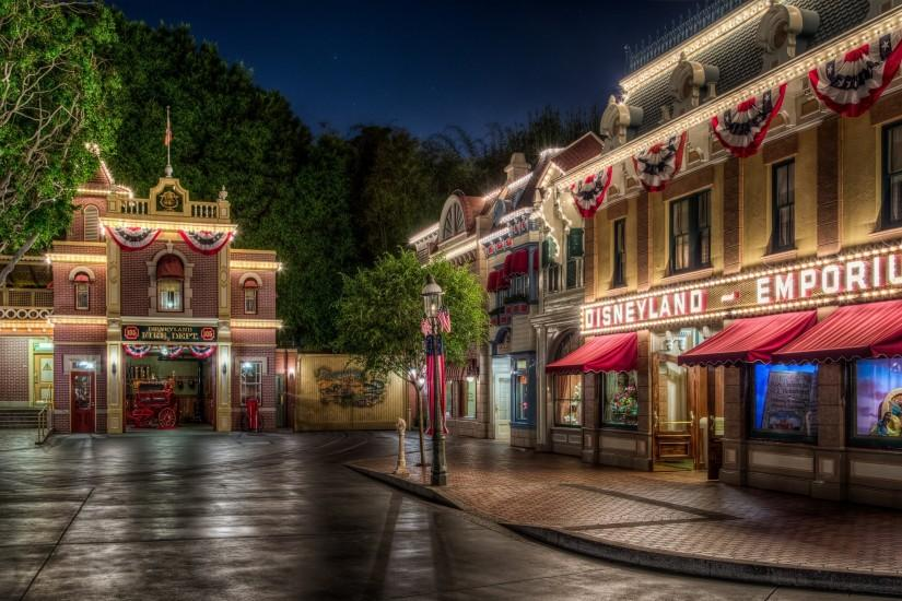 HD Disneyland Backgrounds - USA Disneyland Parks Wallpapers