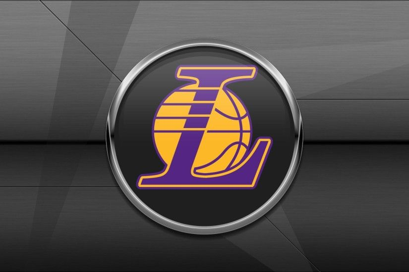 Lakers logo wallpapers HD.
