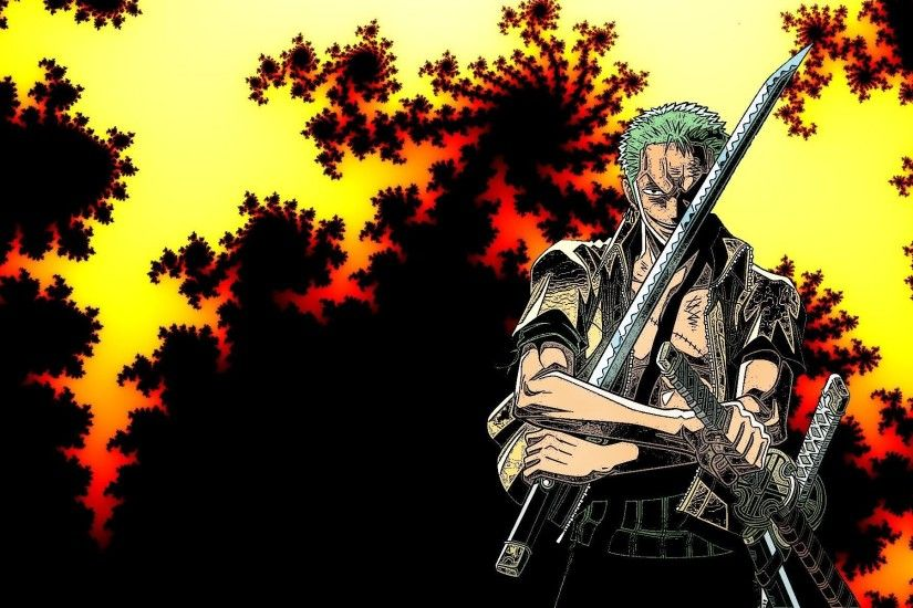 ... Zoro - One Piece HD Wallpaper 1920x1200