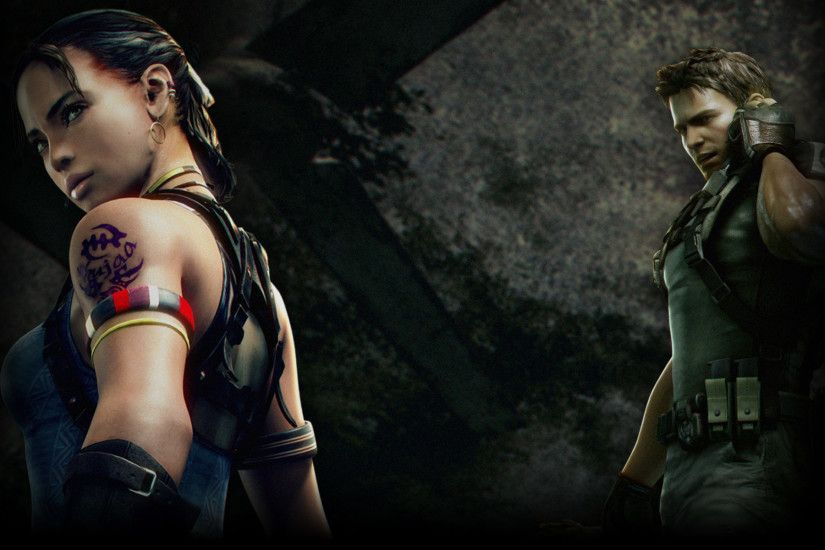Resident Evil 5 images Chris and Sheva HD wallpaper and background photos