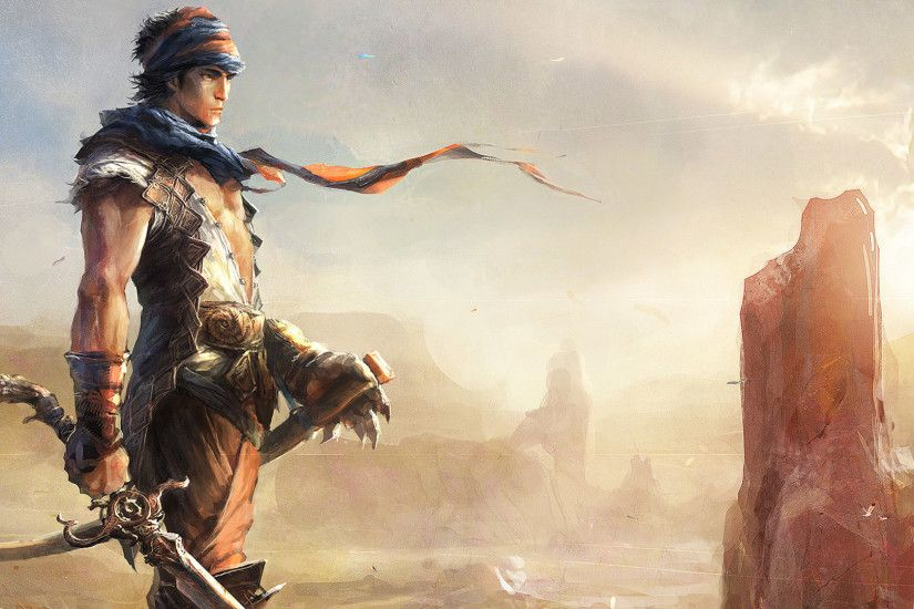 prince of persia the prince looking ahead widescreen hd wallpaper