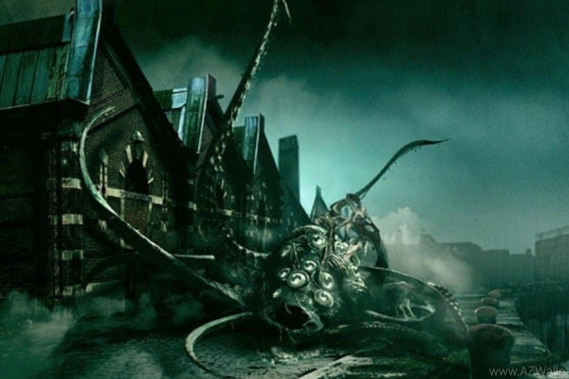 Lovecraft Shadow Over Inns Mouth Fantasy HD Wallpapers Wallpapers .