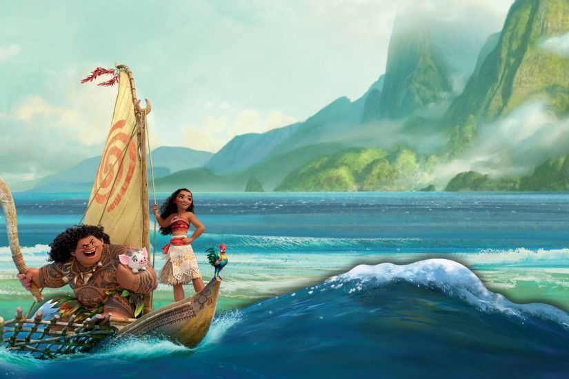Here are some beautiful disney Moana wallpapers for your desktop!