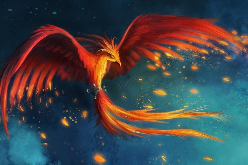 ... Phoenix HD Wallpaper 2560x1600