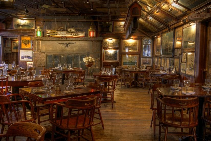 rustic restaurant Wallpaper Background | 37291