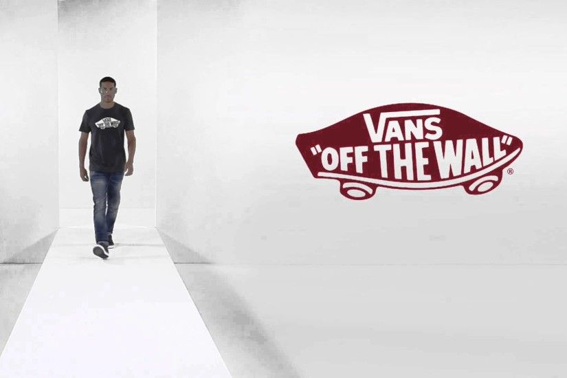 24studio - Vans Off The Wall Print T-Shirt - Heather