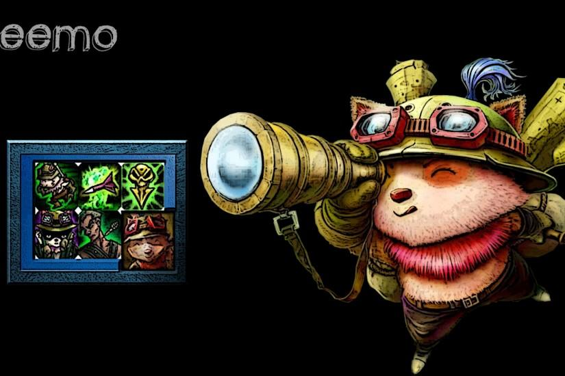 ... League of legends wallpaper Teemo by AlCappachino