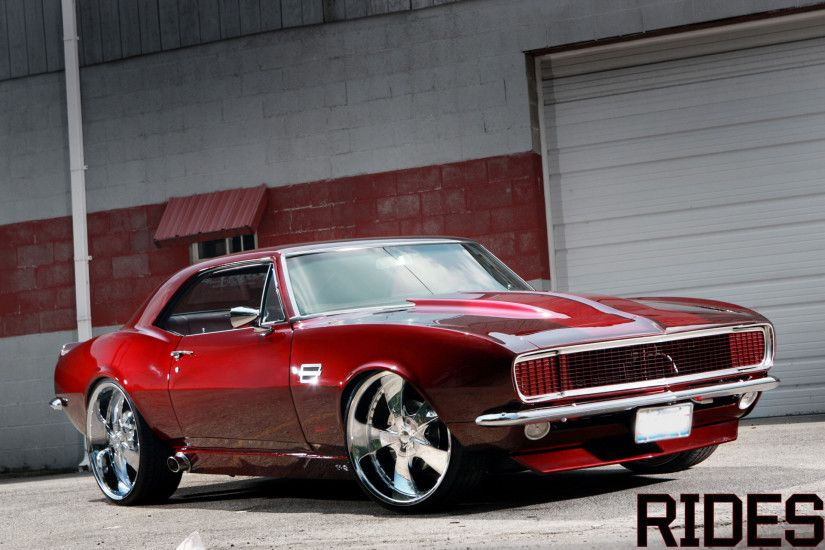 Muscle Car Camaro Widescreen HD Wallpaper