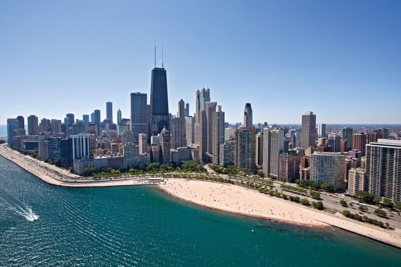 city, Cityscape, Chicago Wallpaper HD