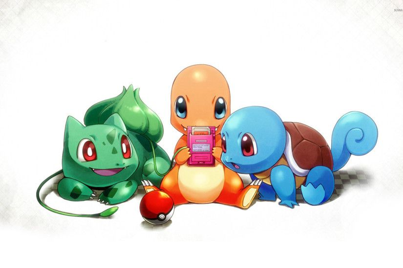Charmander and Squirtle wallpaper