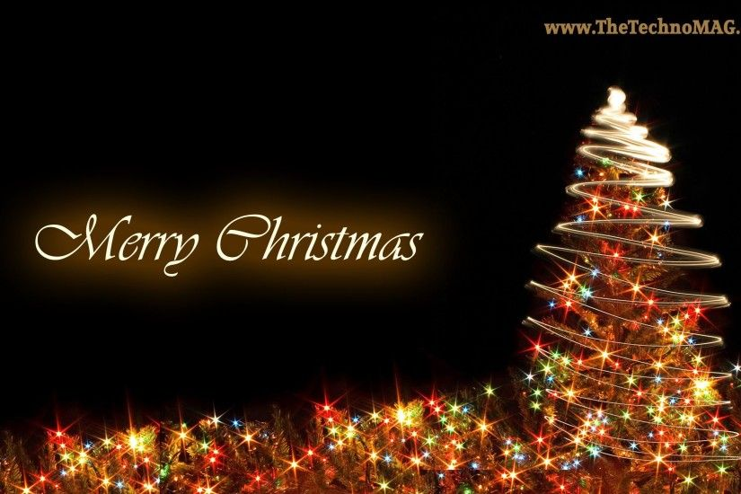 merry christmas background wide wallpaper Wallpaper