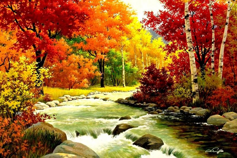 fall wallpapers 1920x1200 tablet