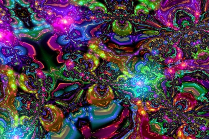 Psychedelic Landscape Hd Wallpaper | Wallpaper Full HD