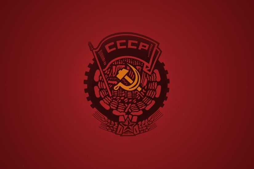 Wallpapers USSR Hammer and sickle 2560x1600