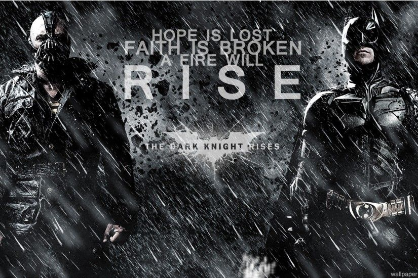 Movie - The Dark Knight Rises Wallpaper