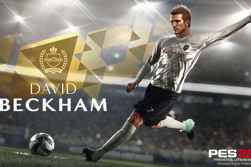 KONAMI sign exclusive deal with David Beckham!