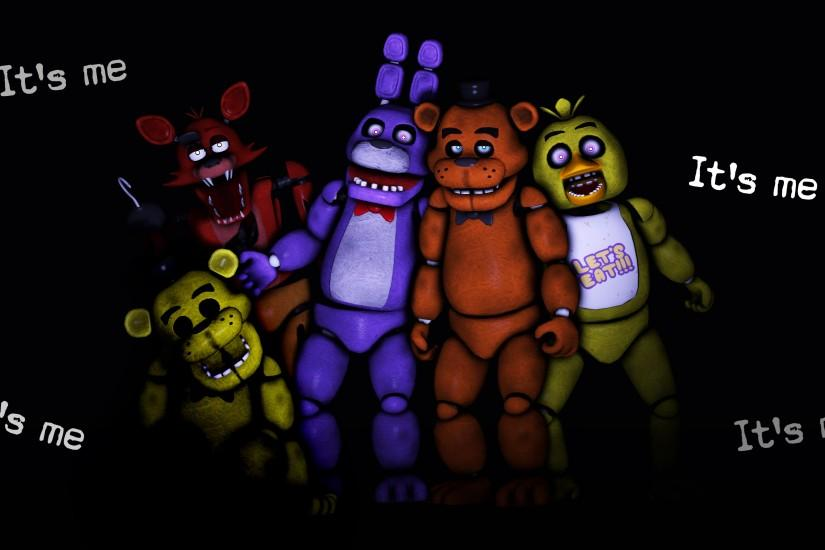 large fnaf background 3840x2160 screen