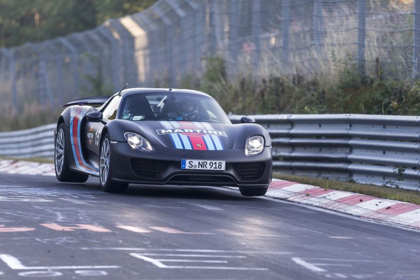 Porsche 918 Spyder On Nürburgring for 1920x1080