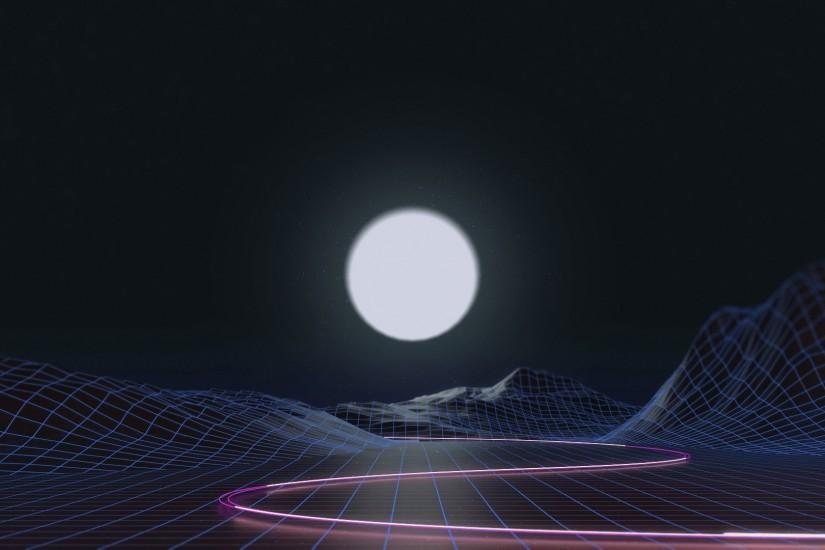 vaporwave background 1920x1080 for ios