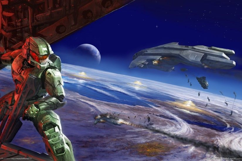 Halo, Master Chief, Halo 2, Bungie, Video Games, Artwork, Halo 3 Wallpapers  HD / Desktop and Mobile Backgrounds