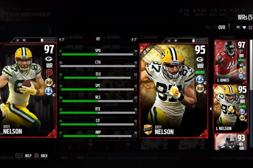 ... jordy nelson comeback player of the year 97 ovr mut discussion; jordy  nelson wallpaper ...