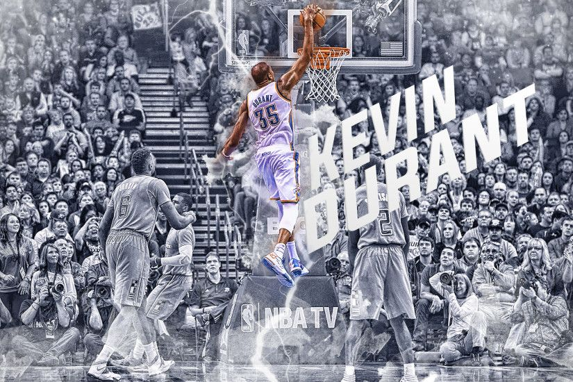 ... Kevin Durant Cold Dunk Wallpaper by SkdWorld