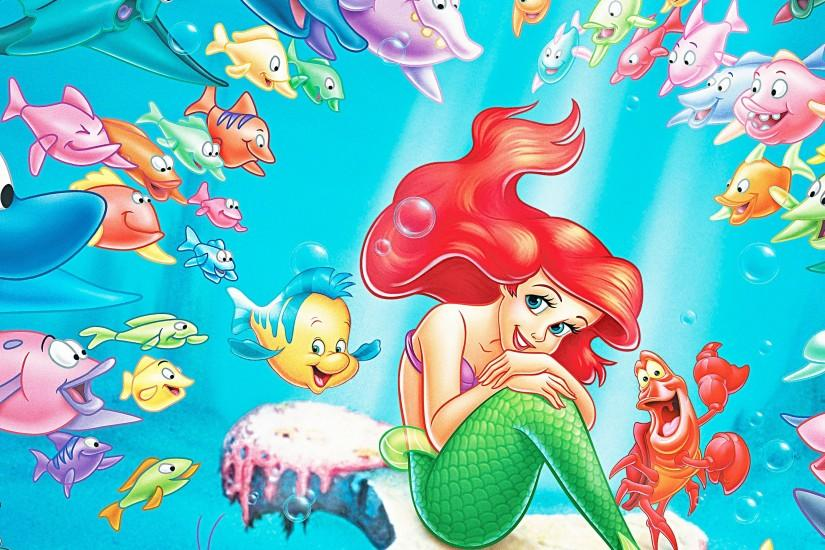 ... LITTLE MERMAID disney fantasy animation cartoon adventure family  1littlemermaid ariel princess ocean sea underwater wallpaper ...