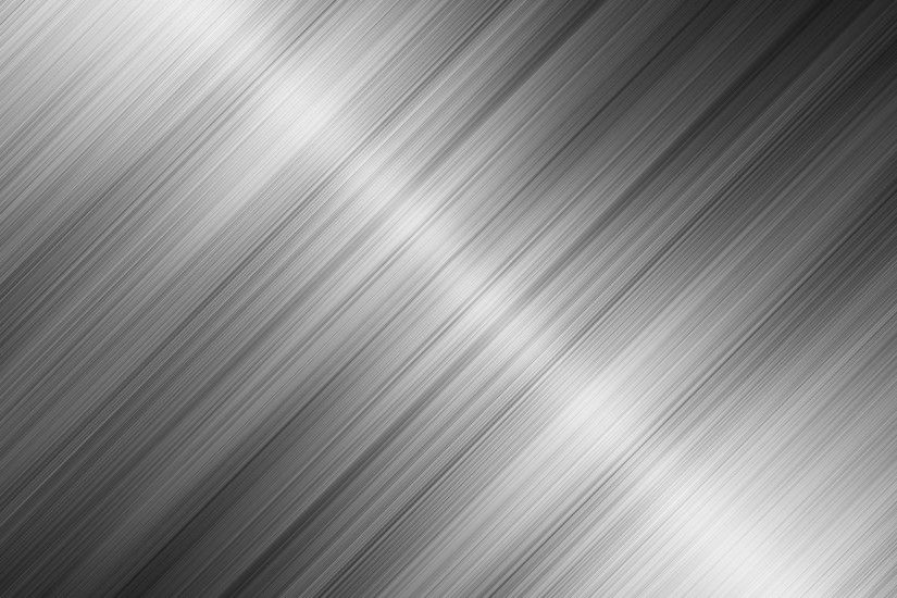 Preview wallpaper metal, lines, stripes, light, shiny, silver 1920x1080