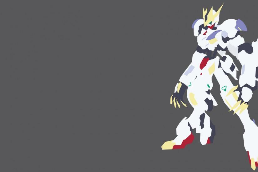 Gundam Barbatos Lupus Rex Minimalist by lightgray02 Gundam Barbatos Lupus  Rex Minimalist by lightgray02
