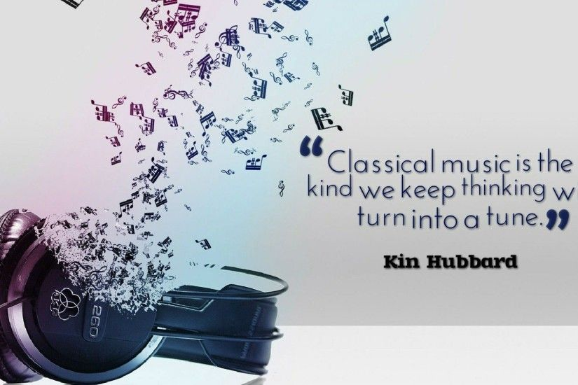 Classical music quotes wallpaper