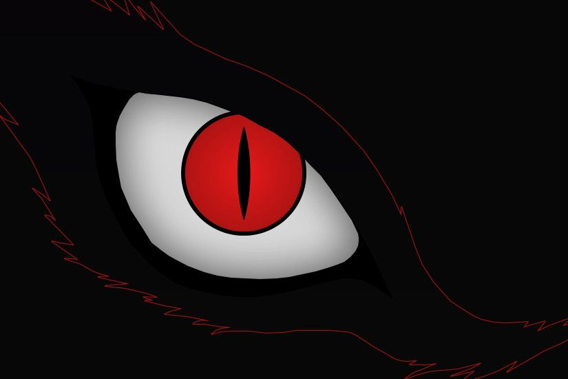 ... Kyuubi (Nine Tails Demon Fox)'s Eye Wallpaper by CELL-MAN