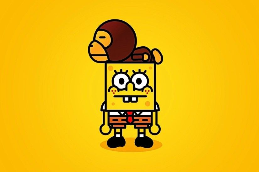 Download Funny Spongebob HD Wallpaper (5013) Full Size .
