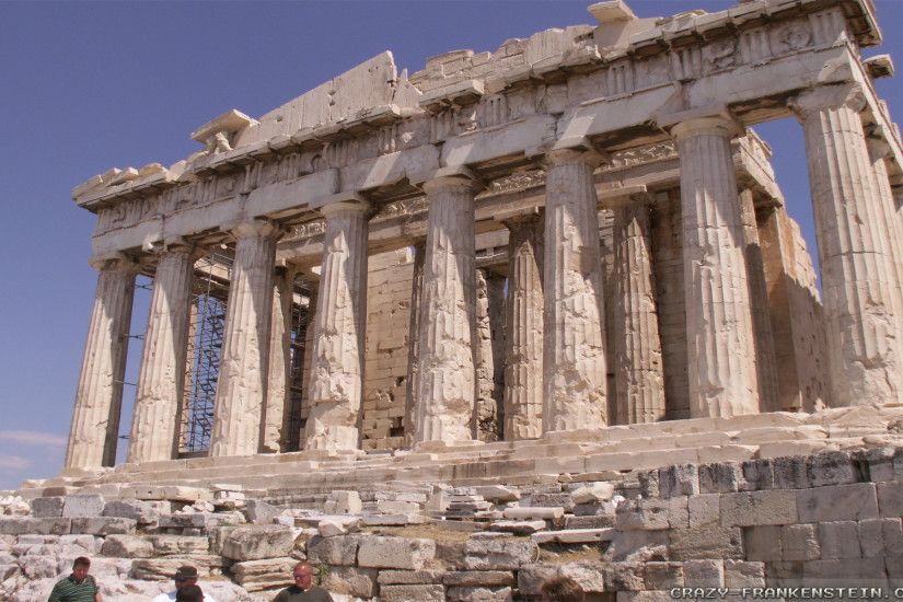 Wallpaper: Parthenon Athens Resolution: 1024x768 | 1280x1024 | 1600x1200.  Widescreen Res: 1440x900 | 1680x1050 | 1920x1200