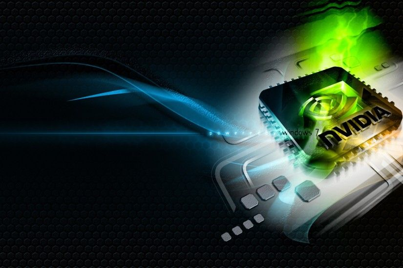 Preview wallpaper nvidia, green, blue, white, chip 3840x2160