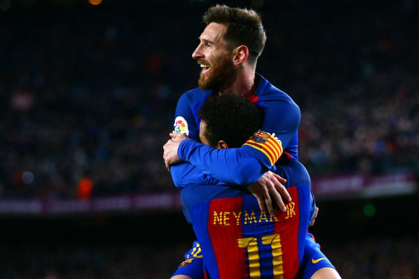 Neymar 'happy' to see Messi reach World Cup as Barcelona star's wife sends  special message The PSG star is pleased that his former club-mate at  Barcelona ...