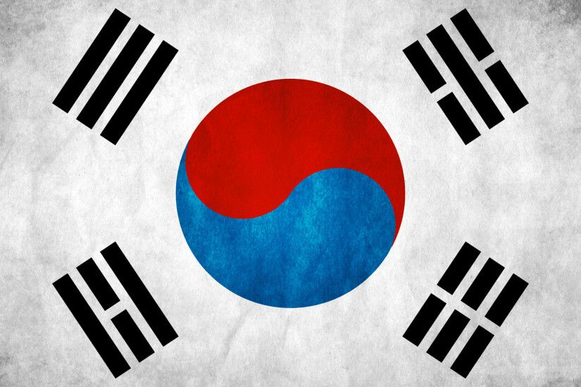 HD South Korea Flag wallpaper