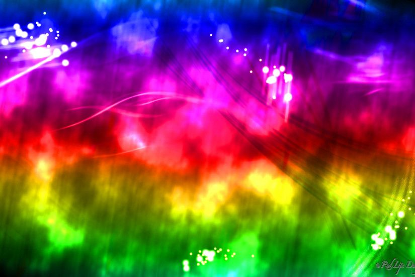 Wallpapers For > Neon Rainbow Wallpapers