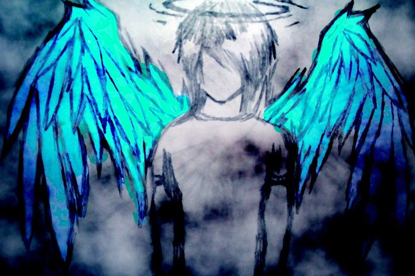 Anime Angel Wallpaper Cartoon Boys with 21021wall.jpg